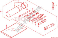 OUTILS Chassis 300 honda-moto FOURTRAX 1995 F__3200