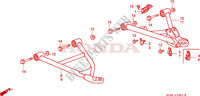 TRIANGLES AVANT pour Honda TRX 300 FOURTRAX 4X4 1995