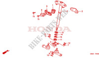 ARBRE DE DIRECTION pour Honda FOURTRAX 450 FOREMAN 4X4 Electric Shift 1999