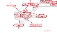 MARQUE Chassis 450 honda-moto FOURTRAX 2001 F__3600