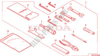 OUTILS Chassis 1800 honda-moto VTX 2002 F__3300