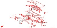 BOITIER DE PROTECTION Chassis 1800 honda-moto GOLD-WING 2013 F_19_3