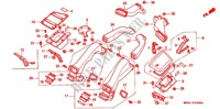 CONDUIT D'AIR Chassis 1500 honda-moto GOLD-WING 1991 F_43