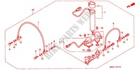 DISTRIBUTEUR D'AIR Chassis 1500 honda-moto GOLD-WING 1991 F_51