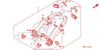 JEU DE CONDUIT D'AIR ('90) Chassis 1500 honda-moto GOLD-WING 1991 F_74