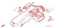 BATTERIE Chassis 250 honda-moto CRF 2006 F_25