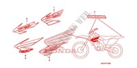MARQUE (CRF250X'04,'05,'06,'07) Chassis 250 honda-moto CRF 2006 F_31