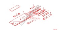 OUTILS Chassis 500 honda-moto FOURTRAX 2010 F_35