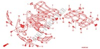 SUPPORT Chassis 500 honda-moto FOURTRAX 2010 F_34