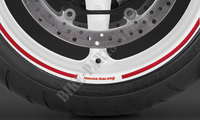 Stickers Rims HONDA RACING red-Honda