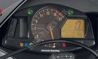 Dress up dashboard.-Honda