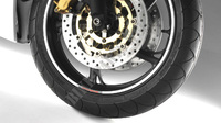 Rims stickers HONDA RACING  white-Honda
